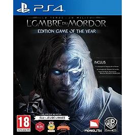 La Terre du Milieu - l'ombre du Mordor - édition GOTY (PS4)