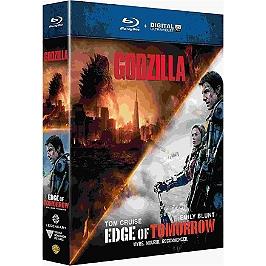 Coffret edge of tomorrow ; Godzilla, Blu-ray