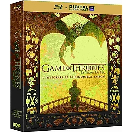 Coffret game of thrones, saison 5, Blu-ray