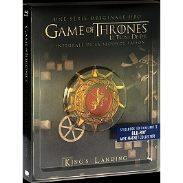Coffret game of thrones, saison 2, Steelbook - Édition limitée, Blu-ray
