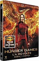 Hunger games : la révolte, parties 1 et 2 en Blu-ray