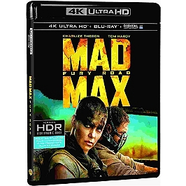Mad Max fury road, Blu-ray 4K