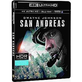 San Andreas, Blu-ray 4K
