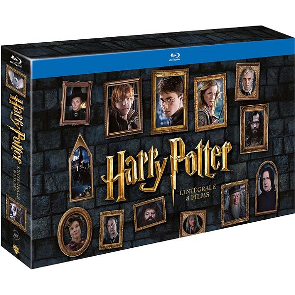 Ray Films Columbus 8 Chris Intégrale Potter Blu Harry Coffret ulJ3TKcF1