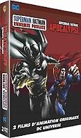 Coffret Superman Batman : apocalypse ; ennemis publics en Dvd