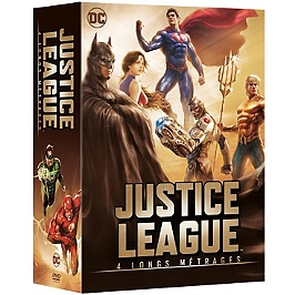 Coffret justice league 4 films, Dvd