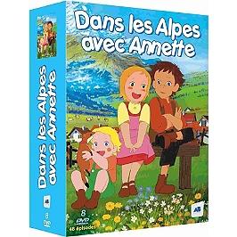 Coffret dans les Alpes avec Annette, saison 1, Dvd