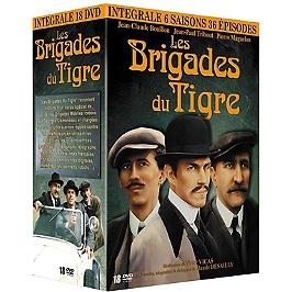 Coffret intégrale les brigades du Tigre, Dvd