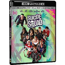 Suicide squad, Blu-ray 4K