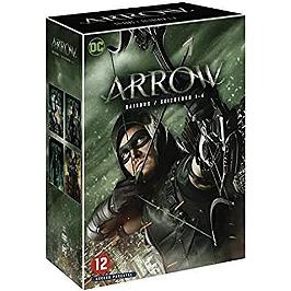 Coffret arrow, saisons 1 à 4, Dvd