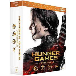 Coffret hunger games 4 films, Dvd