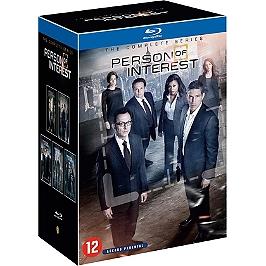 Coffret person of interest, saisons 1 à 5, Blu-ray
