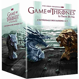 Coffret game of thrones, saisons 1 à 7, Dvd