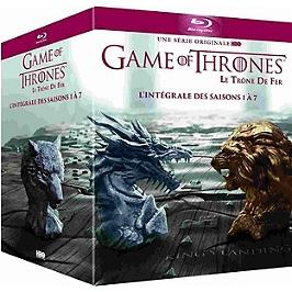 Coffret game of thrones, saisons 1 à 7, Blu-ray