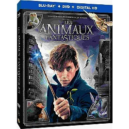 Les animaux fantastiques, Combo DVD + Blu-ray, Blu-ray