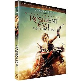 Resident evil 6 : chapitre final, Blu-ray