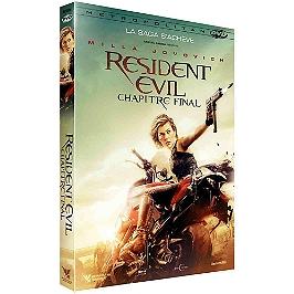 Resident evil 6 : chapitre final, Dvd