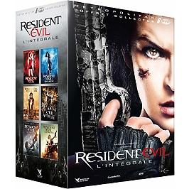 Coffret resident evil 1 à 6, Dvd