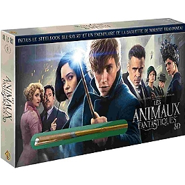 Les animaux fantastiques, Steelbook, Blu-ray 3D