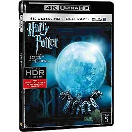 Harry Potter 5 : l'ordre du Phénix, Blu-ray 4K