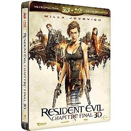 Resident evil 6 : chapitre final, Blu-ray 3D