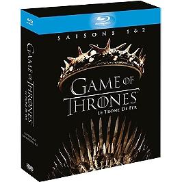 Coffret game of thrones, saisons 1 et 2, Blu-ray