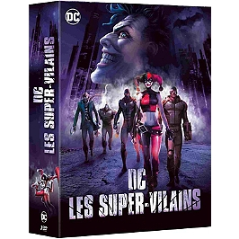 Coffret DC villains 3 films : the killing joke ; assaut sur Arkham ; Batman et Harley Quinn, Dvd