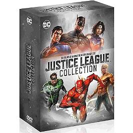Coffret Justice League collection 10 films, Dvd