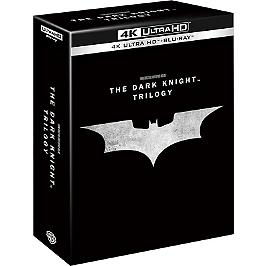 Coffret trilogie the dark knight : Batman begins ; the dark knight ; the dark knight rises, Blu-ray 4K