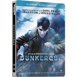 Dunkerque, Edition Steelbook Combo, Blu-ray 4K