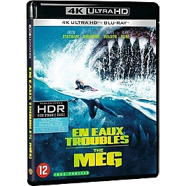 En eaux troubles - the meg, Blu-ray 4K