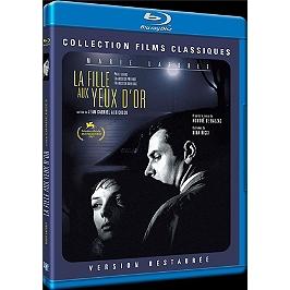 La fille aux yeux d'or, Blu-ray