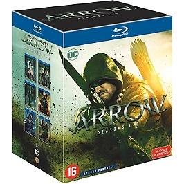 Coffret Arrow, saisons 1 à 6, 138 épisodes, Blu-ray