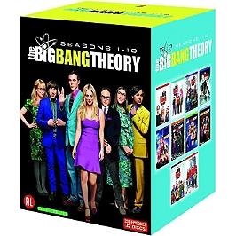 Coffret the Big Bang theory, saisons 1 à 10, 231 épisodes, Dvd