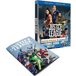 Justice League + Comic Book : édtion spéciale E.LECLERC, Blu-ray