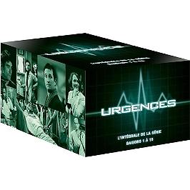 Coffret urgences, saisons 1 à 15, Dvd