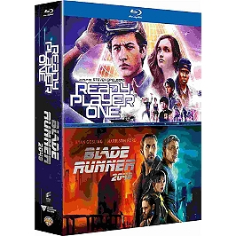 Coffret 2 films : ready player one ; blade runner 2049, Blu-ray