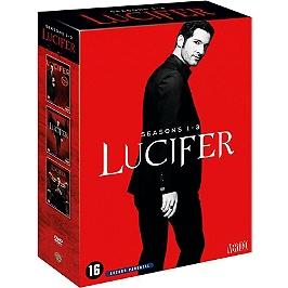Coffret Lucifer, saisons 1 à 3, Dvd