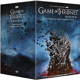 Coffret intégrale game of thrones, saisons 1 à 8, Dvd