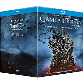Coffret intégrale game of thrones, saisons 1 à 8, Blu-ray