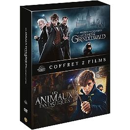 Coffret les animaux fantastiques 1 et 2 : les animaux fantastiques ; les crimes de Grindelwald, Dvd