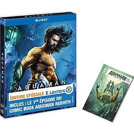 Aquaman + comic book, édition spéciale E. Leclerc, édition spéciale E. Leclerc, Blu-ray