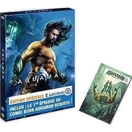 Aquaman + comic book, édition spéciale E. Leclerc, édition spéciale E. Leclerc, Dvd