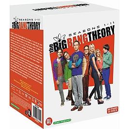 The big bang theory, saisons 1 a 11, 255 épisodes, Dvd