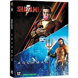 Coffret nouveaux héros 2 films : Aquaman ; Shazam !, Dvd