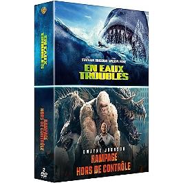 Coffret grosses bêtes 2 films : en eaux troubles ; rampage - hors de contrôle, Dvd