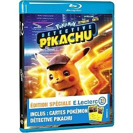 Pokémon détective Pikachu, édition spéciale E. Leclerc, Blu-ray