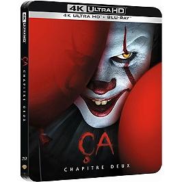 ça : chapitre 2, Steelbook, Blu-ray 4K