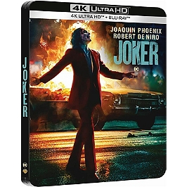 Joker, Steelbook, Blu-ray 4K