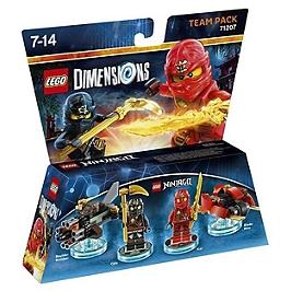 Figurines LEGO Dimensions - Kai & Cole - LEGO Ninjago
